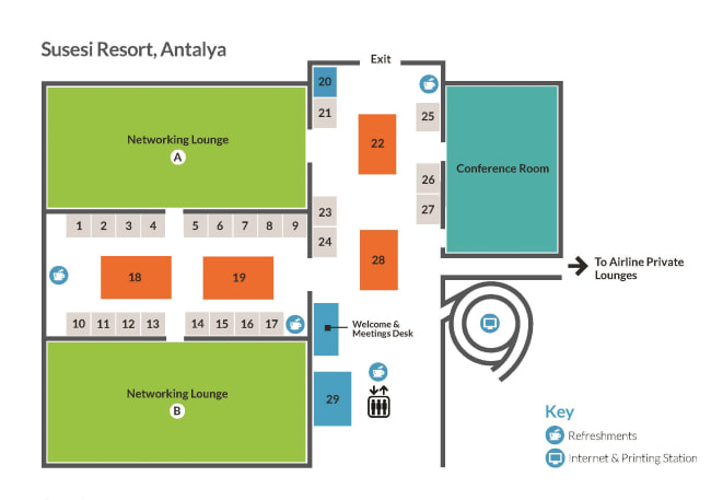 venue floorplan