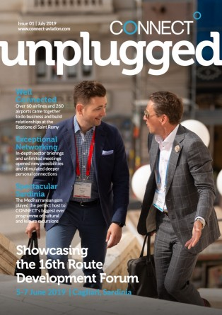 connect unplugged - issue 1 - july 2019 - route development forum